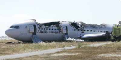 Asiana Flight 214 Wreckage