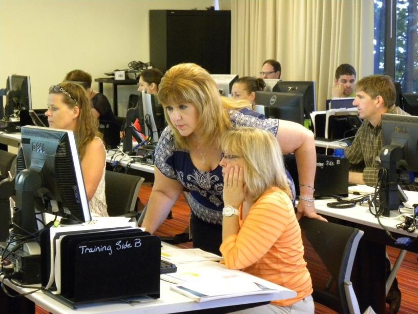 Janie Moreno trains clients on Kenyon Response